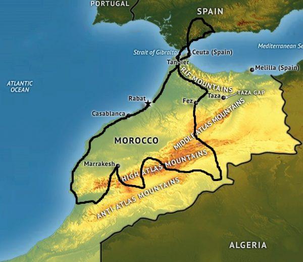 morroco-map